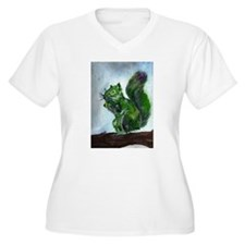 Squirrel Plus Size T-Shirt
