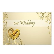 our wedding Postcards (Package of 8)