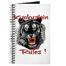 Kyokushin Black Tiger design Journal