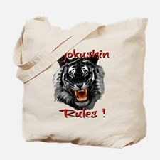 Kyokushin Black Tiger design Tote Bag