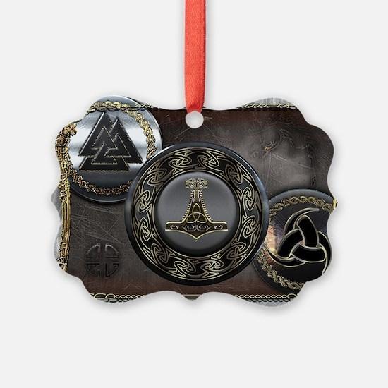 Vikings Shields Ornament