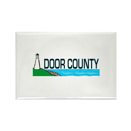 Door County Rectangle Magnet