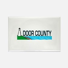 Door County Rectangle Magnet