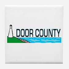 Door County Tile Coaster