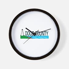 Door County Wall Clock