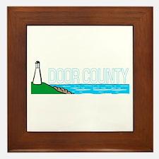 Door County, Wisconsin Framed Tile