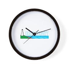 Door County, Wisconsin Wall Clock