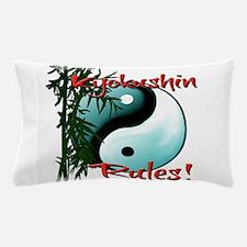 Yin Yang and Bamboo Kyokushin design Pillow Case