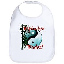 Yin Yang and Bamboo Kyokushin design Bib