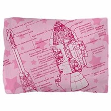 space-capsule-pink_13-5x18.png Pillow Sham