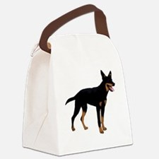 Australian Kelpie Dog Canvas Lunch Bag