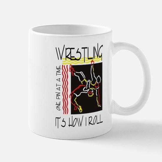 wrestling27light Mugs