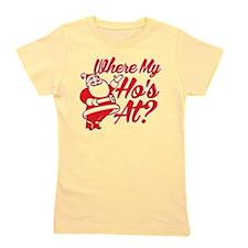 Where My Hos At? Girl's Tee