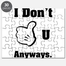 I Dont Like you Puzzle