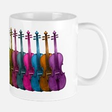 Colorful Violins Mug