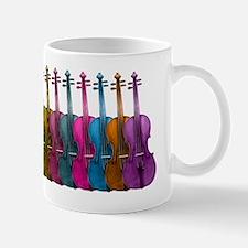 Colorful Violins Small Small Mug