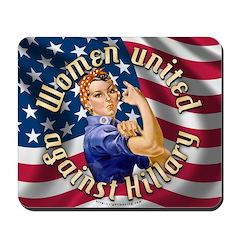 Women against Hillary Mousepad