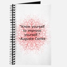Auguste Comte Quote Journal