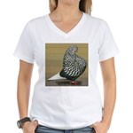 Teager Flight Women's V-Neck T-Shirt