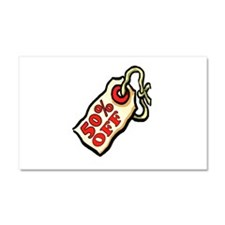50% OFF Car Magnet 20 x 12