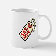 50% OFF Mugs