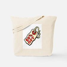50% OFF Tote Bag
