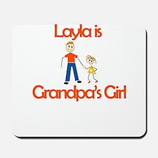 Layla is Grandpa's Girl Mousepad