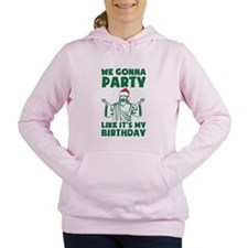 Cute New year's Women's Hooded Sweatshirt