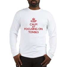 Keep Calm by focusing on Tonsi Long Sleeve T-Shirt