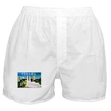 Vintage Panama Art Boxer Shorts