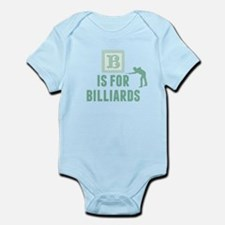 B Is For Billiards Body Suit