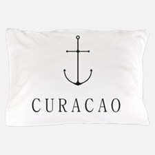 Curacao Sailing Anchor Pillow Case