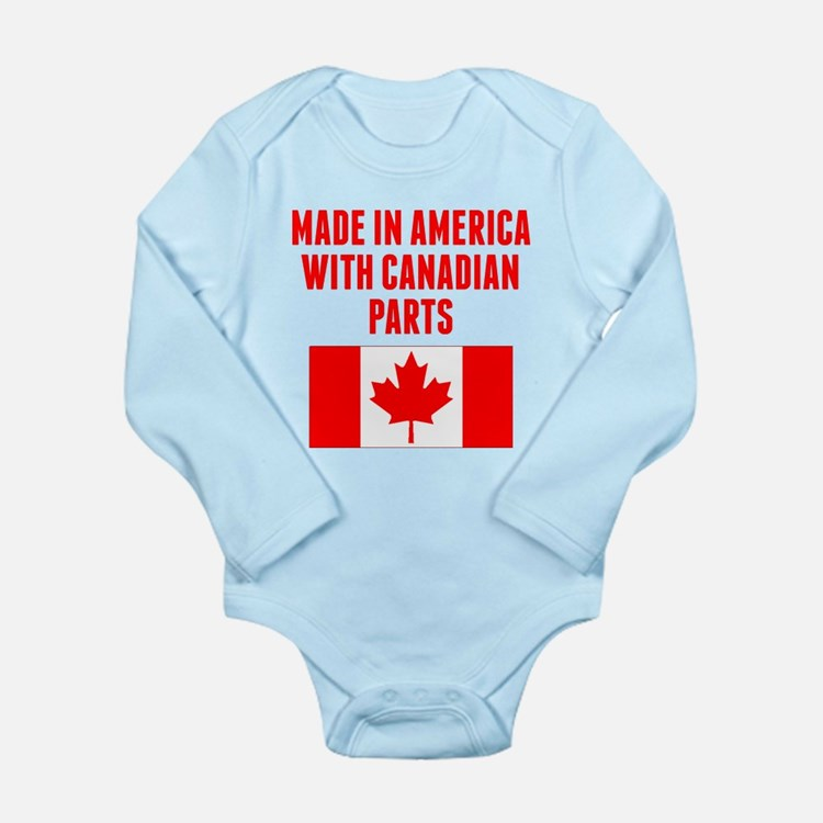 Made In America With Canadian Parts Body Suit
