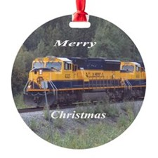 Alask Railroad Ornament