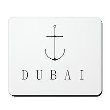 Dubai Sailing Anchor Mousepad