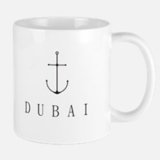 Dubai Sailing Anchor Mugs