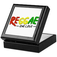 Reggae One Love Keepsake Box