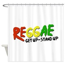 Get Up-Stand Up Shower Curtain