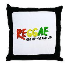Get Up-Stand Up Throw Pillow