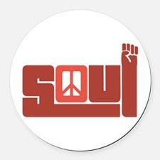 Soul Round Car Magnet