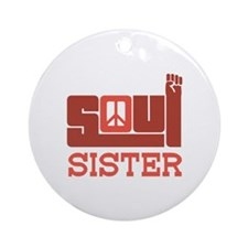 Soul Sister Ornament (Round)