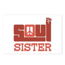 Soul Sister Postcards (Package of 8)
