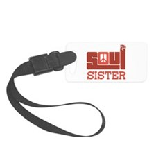 Soul Sister Luggage Tag