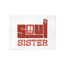 Soul Sister 5'x7'Area Rug