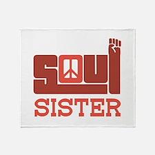 Soul Sister Throw Blanket