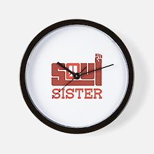 Soul Sister Wall Clock