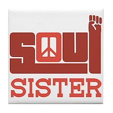 Soul Sister Tile Coaster