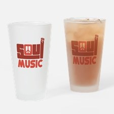 Soul Music Drinking Glass