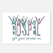 Praise On Postcards (Package of 8)