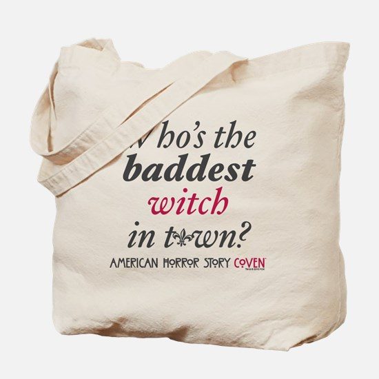 The Baddest Witch Tote Bag